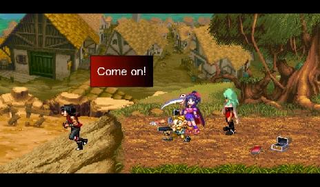 Dialog Scene Screen Shot #4