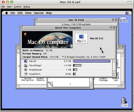 Mac OS 8 Project