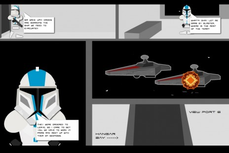"Preview of some things for ""Star Wars:The 501st"""