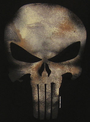 The skull of the Punisher