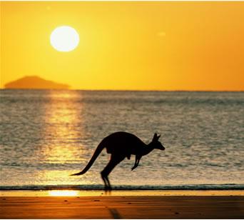 Off to Australia