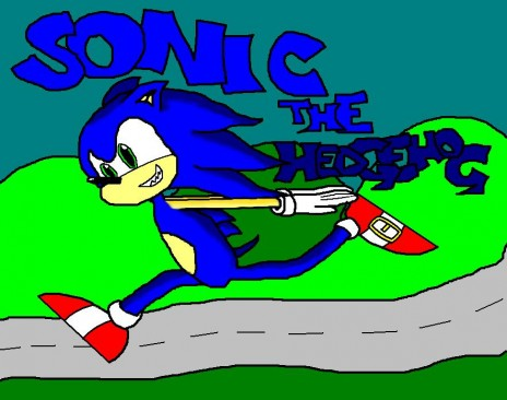 Edited Sonic Picture! =D