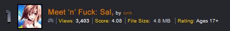 Meet 'n' Fuck: Sal - Wins Daily First!