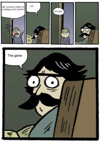 Stare Dad comics.