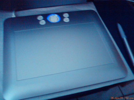 a digital tablet o my good!!!!!!!!!! im so exited.....jeje
