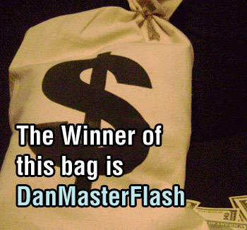 New site, and giving away money bag again.