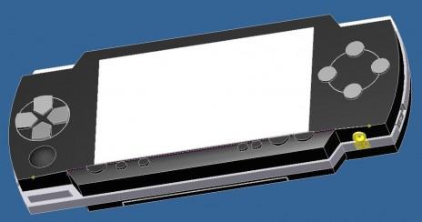 PSP 3D Model by me