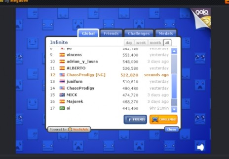 High Score in Block Squad!!!