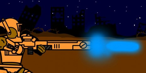 Tau fire warrior firing