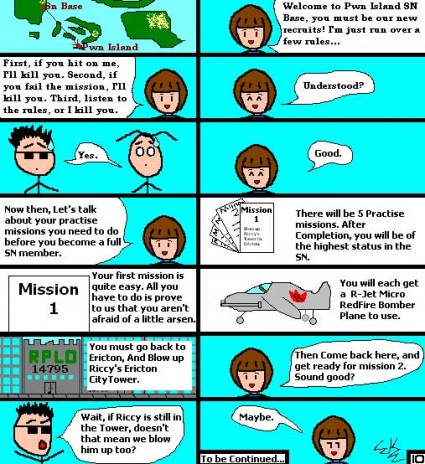 Comic 10: Adventures of Tino & Tim IN COLOUR