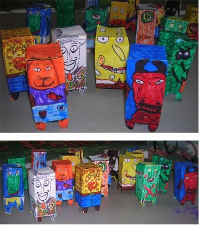 Kids papercrafts!