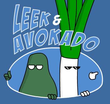 Leek & Avokado