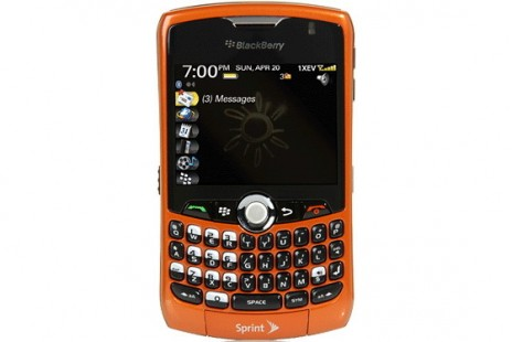 The BlackBerry Curve 8330