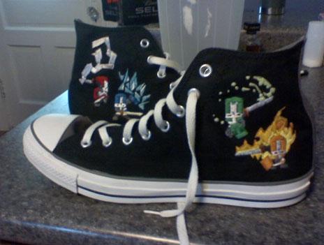 More Castle Crashers Shoes
