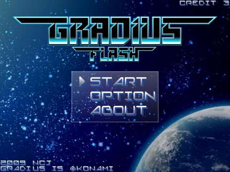 Gradius Flash