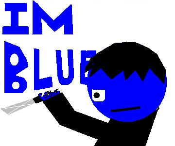Blue is Here.....