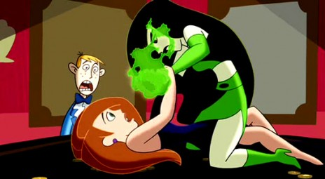Kim Possible's naked breasts