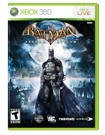 JUST GOT BATAMAN ARKHAM ASYLUM!!!!!!!!!!!