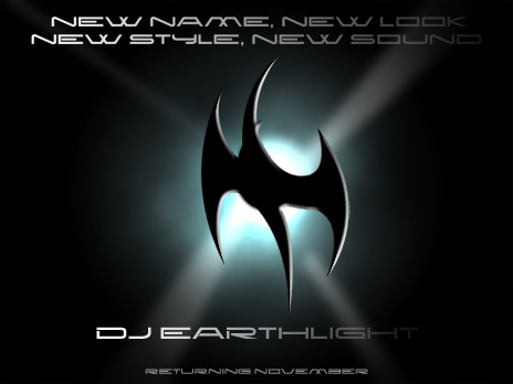 New Name, New Style, New Sound - DJ AirWave becomes DJ Earthlight