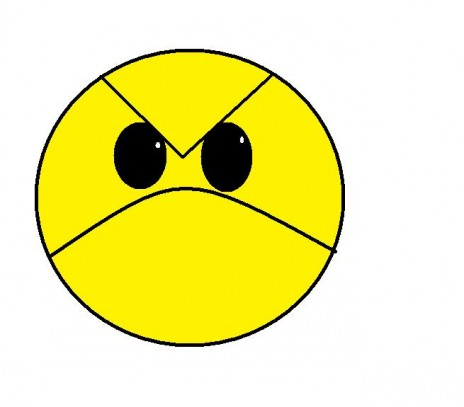 i love angry faic lol