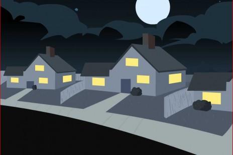 Halloween cartoon in works.