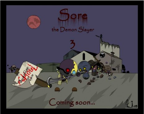 Sore the Demon Slayer 3, almost done!