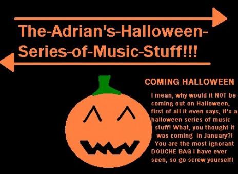 The-Adrian's Halloween Series!