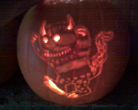Where the Wild Things Are! + Pumpkin!