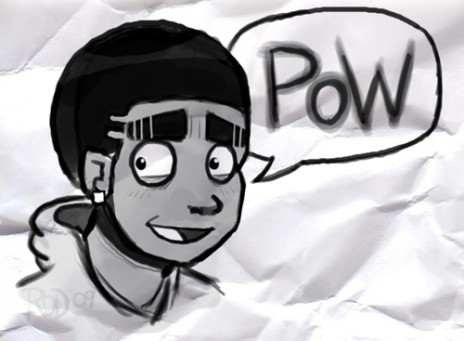 Animating again.. Pow!