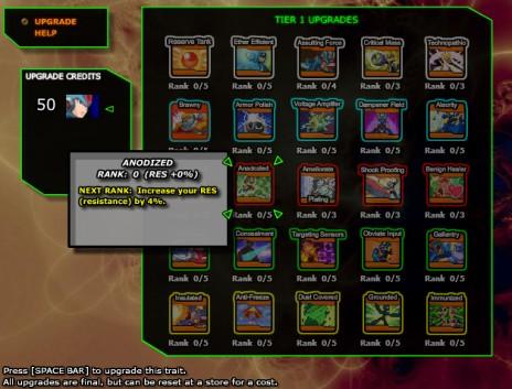 Megaman X RPG Chapter 2 Update: Tier 1 Upgrades