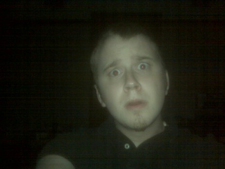 We got some f'in paranormal activity going on here