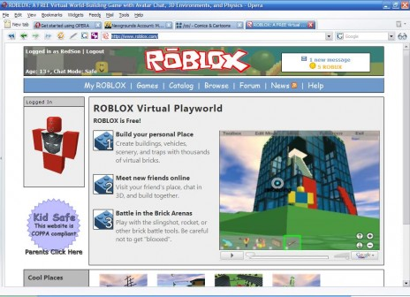 Roblox - Second Life simplified so much it's got less coding than Solitaire