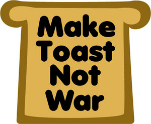 Buttered toast!