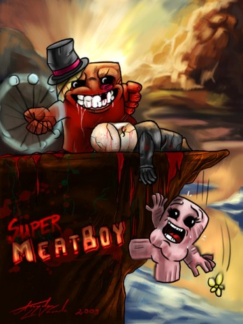 Free Meat Boy comic!