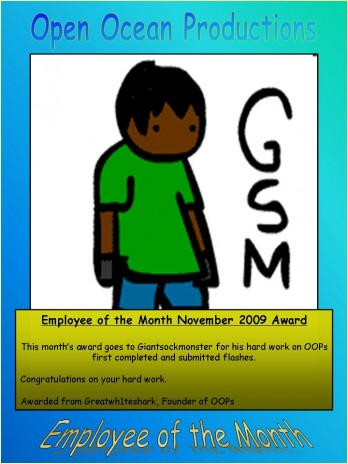 Employee of the Month NOV 2009