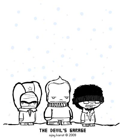 Character designs for Lenkobiscuit