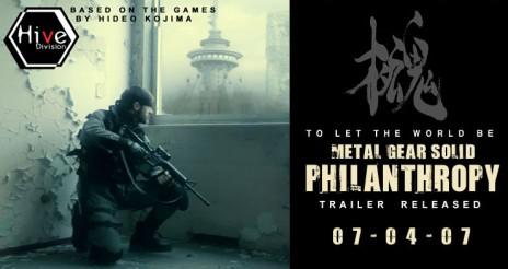 Fanmade 60+ min Metal Gear Solid Movie