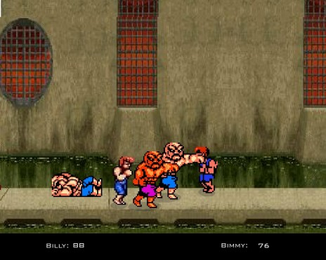 2 player co-op beat em up almost completed!