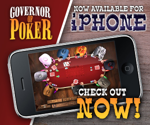 Governor of Poker on the iPhone!!