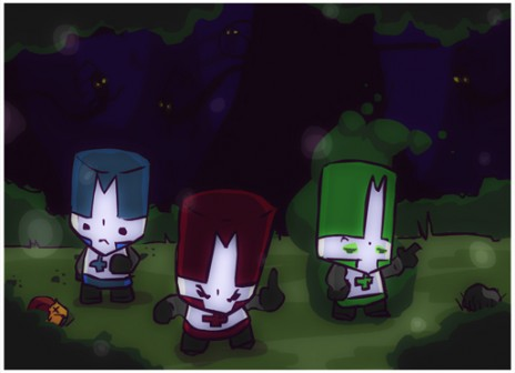Castle Crashers Lost Forest