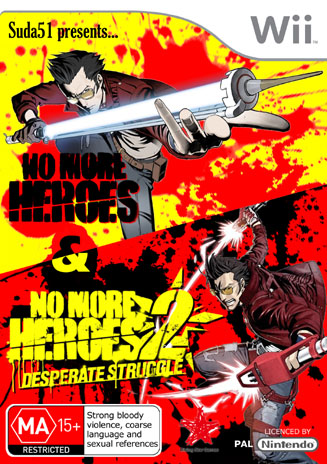 No More Heroes 1 & 2 Au Cover