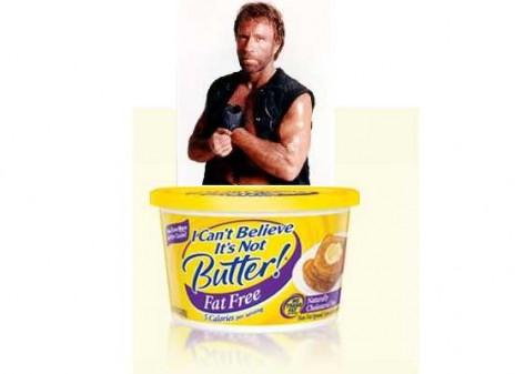 Chuck Norris & Butter