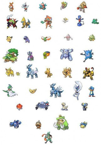 All pokemon fuses I've ever made!