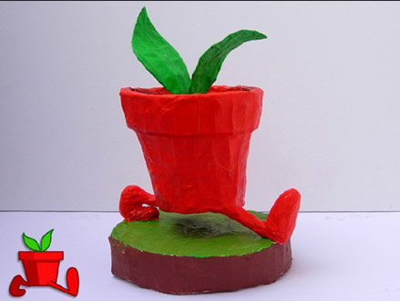 Exciting new game and a GoGoPlant sculpture!!!!