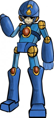 Megaman XC, what do you think of my Megaman?