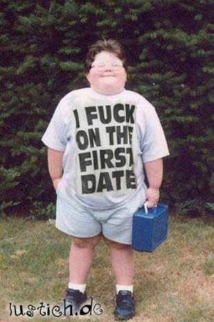I fuck on the first date.