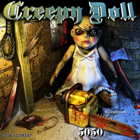 Creepy Doll - Flash Toy