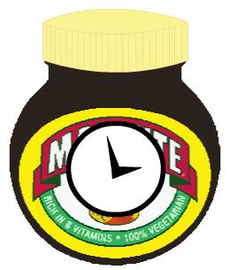 Marmite Clock 2010 Redesign