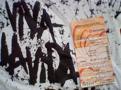 Coldplay,Mexico, 6 de marzo.
