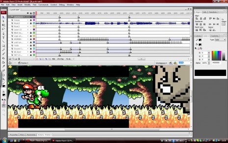 W00t more work on a yoshi's tale yes